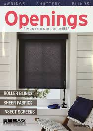 Feature In The BBSAs Openings Magazine Plantation Shutters - Exterior shutters uk