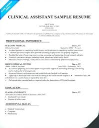Physician Assistant Resume Physician Assistant Resumes Safety