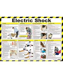 Electrical Chart Electric Shock First Aid Chart