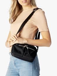 KNOMO Avery Cross Body Bag, Black at John Lewis & Partners