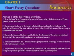sociology section examining social life ppt video online  short essay questions chapter 1 answer 3 of the following 5 questions