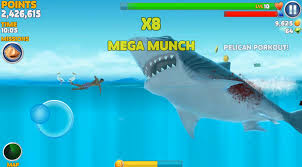 hungry shark evolution mobile game app basesystems hungry shark evolution