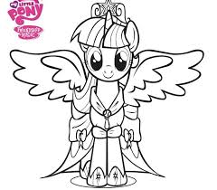 Small Picture 57 best My Little Pony Coloring Pages images on Pinterest