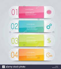 Formati Brochure Una Infografica Modello Con Passo Opzioni Per Business Concetto Di