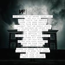 Nf Mansion Nf In 2019 Nf Lyrics Song Lyric Quotes Christian