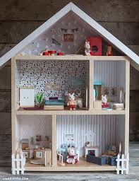 Make your own dollhouse furniture Wooden Dollhouse Create Your Own Dollhouse Pinterest Give Home Make Your Own Dollhouse Inspiring Ideas For Kids