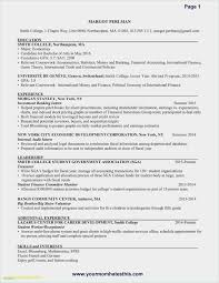 Free Download 54 No Experience Resume Template New Free Collection