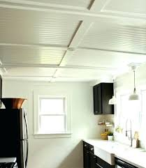 decorating beadboard bathroom ceiling with b board paneling in ideas