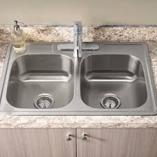 kitchen sink. Delighful Sink Colony ADA 33x22inch Double Bowl Kitchen Sink Kit With Faucet On