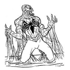 spiderman to color. Brilliant Color Black Spiderman Pics To Color Throughout To R