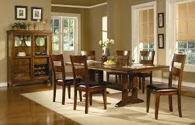 mission style round dining table medium size of dining dining room set with bench 7 piece