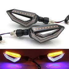 Yashinika 12 LED <b>Universal Turn Signal Lights</b> Blinker Front Rear ...