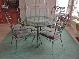 Rod Iron Kitchen Tables White Iron Kitchen Chairs Cliff Kitchen