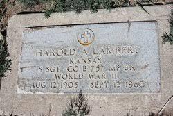 Harold Avery Lambert (1905-1960) - Find A Grave Memorial