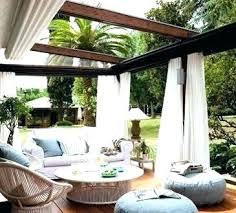 outdoor curtains fantastic patio best ideas on inside sheer canada