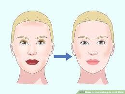image led use makeup to look older step 9