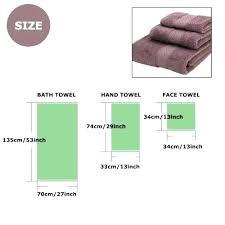 Standard Bath Towel Size
