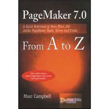 book cover page maker pagemaker 7 from a to z by marc campbell