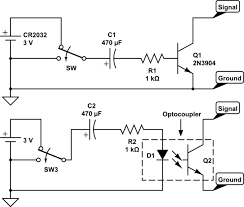 switches using an spst knife switch to power on off a pc schematic