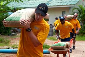 u s department of defense photo essay  u s sailors assigned to the john c stennis participate in a community service project at