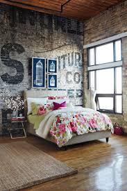 New York Style Bedroom New York Style Brick Wall Livingroom Bathroom