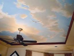 Sky Ceiling Paint Design Ideas