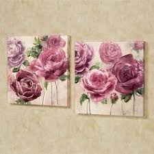 emma rose floral canvas wall art set on pink rose canvas wall art with addison rose canvas wall art purple purple wall art pinterest
