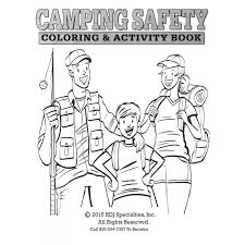Small Picture Camp Safety Coloring Book ColoringSafetyPrintable Coloring Pages