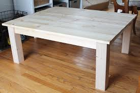 Learn How To Build This Rustic Wood Farmhouse Coffee Table Easy To Make  Coffee Tables