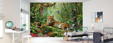 Leeuwen Grote Katten Stijlvol Fotobehang Photowall