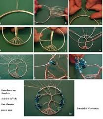 Wire Wrap Dream Catcher Tutorial Wire Wrapped Tree Of Life Ornament Dream catchers Catcher and 71