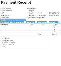 Cash Receipt Template Custom Cash Receipt Template Payment Format In Excel Sample Appinstructorco