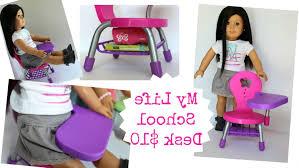 photo 3 of 5 american girl doll school desk playset review you girls school desk 3