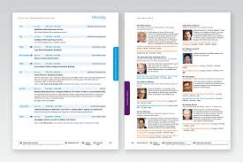 Design Conference Program Event Design On Site Conference Program By Deborah Eckbreth