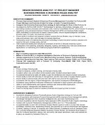 Resume For Healthcare Systems Analyst Resume Sample Business Systems Analyst Resume