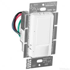 lutron maestro ms ops6m2n dv wh occupancy vacancy sensor lutron maestro ms ops6m2n dv wh white passive infred pir