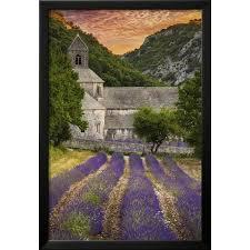 provence france lavender fields framed print wall art by lantern press on lavender fields wall art with provence france lavender fields framed print wall art by lantern