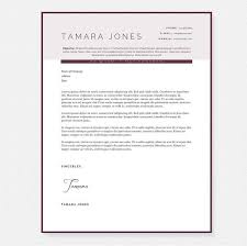 Plum Resume, Cover Letter & References Template Package  Premium Microsoft  Word Templates  Janna Hagan