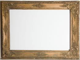 early 20th century ornate gilt picture frame 1 of 2