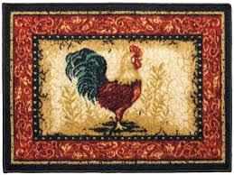 Half Moon Kitchen Rugs Rooster Kitchen Rugs Half Moon Room Area Rugs Accent Rooster
