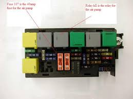 check engine light is on code p0414 secondary air ingection waterproof auto relay box at Fuse Box And Relay