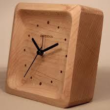 beladesign wooden desktop clock digital table clock lamp clock frozen clock