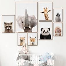 Cartoon Alpaca Zebra Deer Panda <b>Fox</b> Animal <b>5D Diamond</b> ...