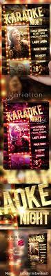 Karaoke Night Flyer Template Karaoke Night Party Flyer Template By GraficAndMedia GraphicRiver 19