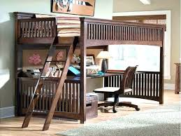 loft bed with desk and futon underneath full length under attachment size chair loft bed with desk