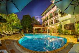 Angkor Palace Resort Spa Hotels In Siem Reap Cambodia Tourist