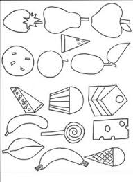 Small Picture Very Hungry Caterpillar Coloring Pages Printables Nice pre k work