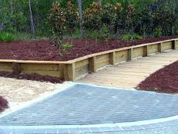 building a wooden retaining wall wood retaining wall design example building wooden retaining wall