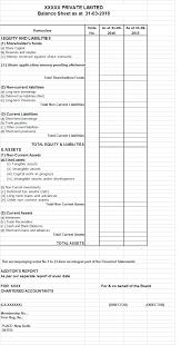 PL Sheet Balance Sheet And Profit And Loss Account Of A Company 6