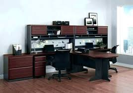 office furniture small office 2275 17. Home Office With Two Desks. Stylish Decoration Person Furniture Desk Desks Small 2275 17 L
